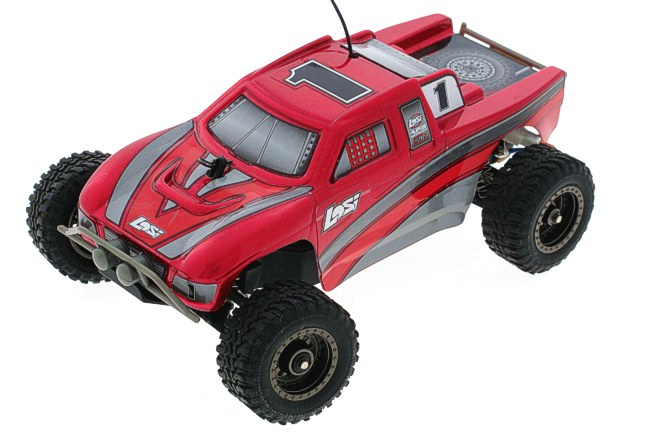Losi Micro Desert Truck RTR (Red) LOSB0233T1