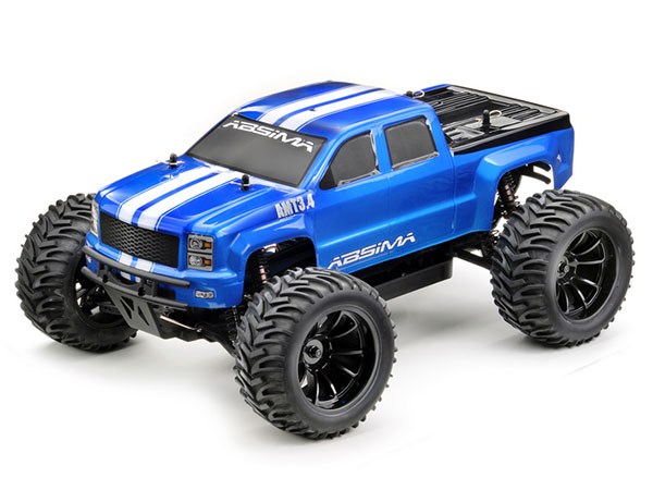 Absima AMT3.4BL 4WD Brushless Monster Truck RTR 12244
