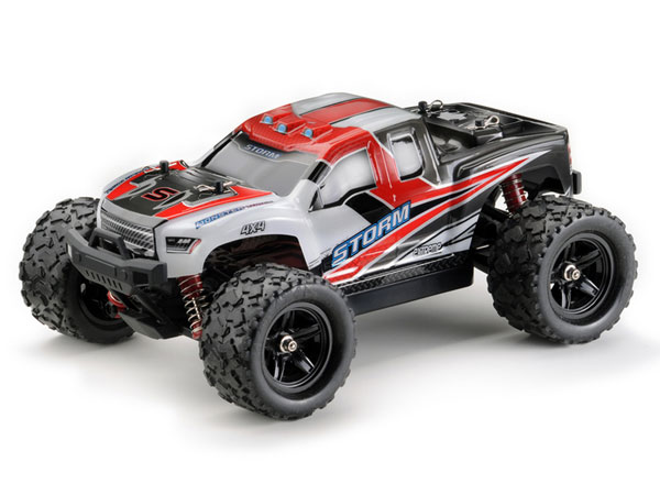 Absima Storm 1:18 4WD High Speed Monster Truck 2.4GHz - Red 18005