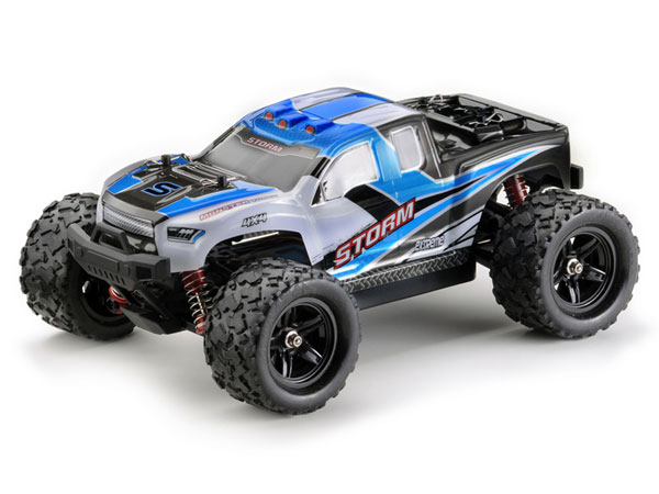 Absima Storm 1:18 4WD High Speed Monster Truck 2.4GHz - Blue 18006