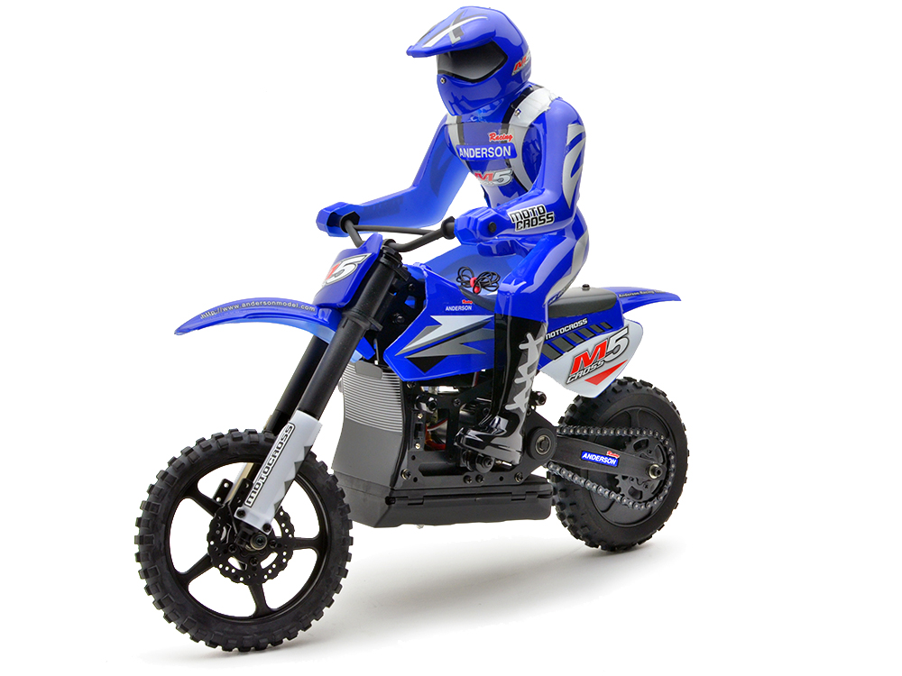 Anderson Racing M5 Motocross Bike (Blue) ANM1201RTR