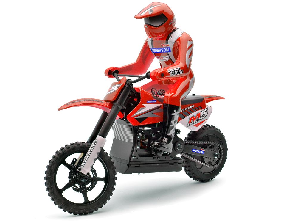 Anderson Racing M5 Motocross Bike (Red) ANM1202RTR