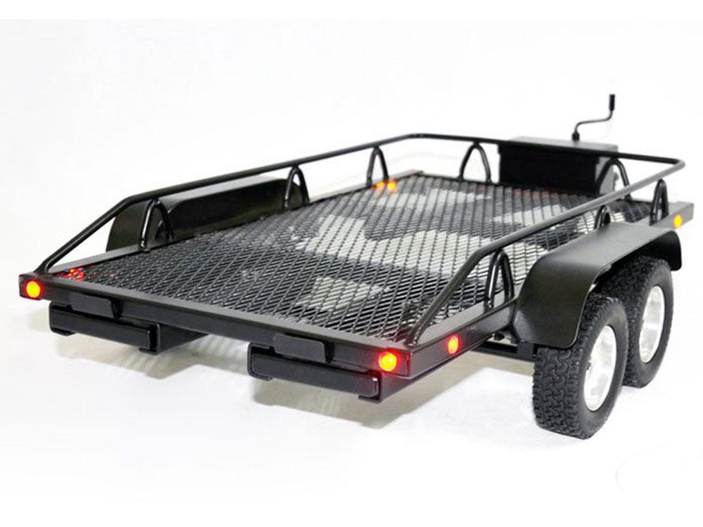 rc4wd bigdog 1  10 scale model rc dual axle scale car   truck trailer z