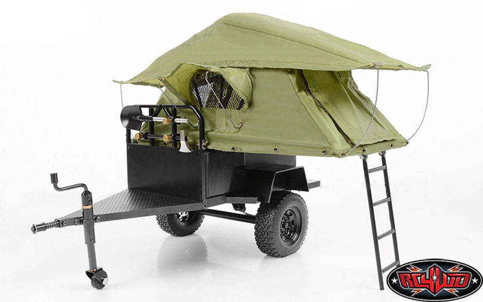 RC4WD Bivouac 1/10 Scale M.O.A.B Camping Trailer w/Tent Z-H0007
