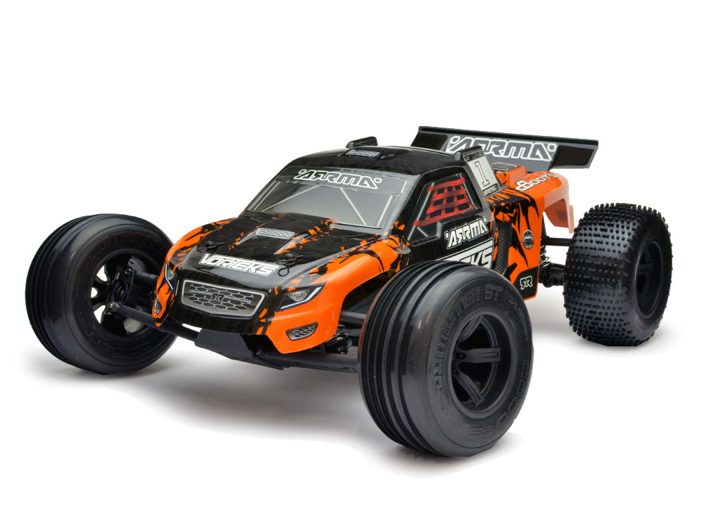 Arrma Vorteks Mega 1/10 2WD Race Truck RTR - Orange/Black AR102655