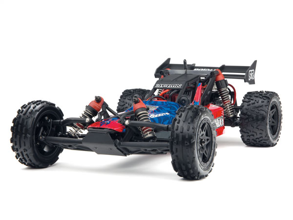 Arrma Raider Mega 1/10 2WD Buggy RTR - Red/Blue AR102656