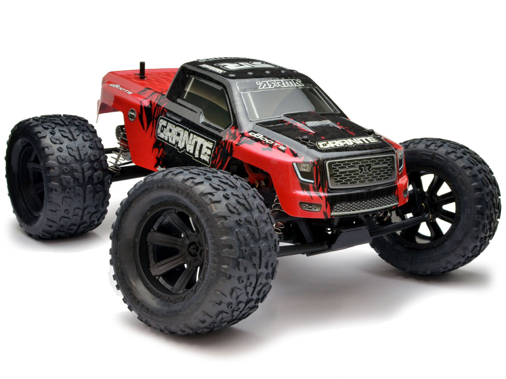 Arrma Granite Mega 1/10 2WD Monster Truck RTR - Red/Black AR102657
