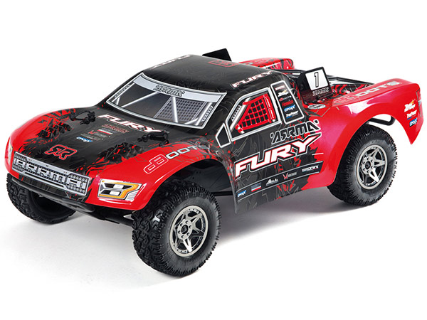 Arrma Fury BLX V2 Brushless 1/10th Short Course Truck RTR AR102661