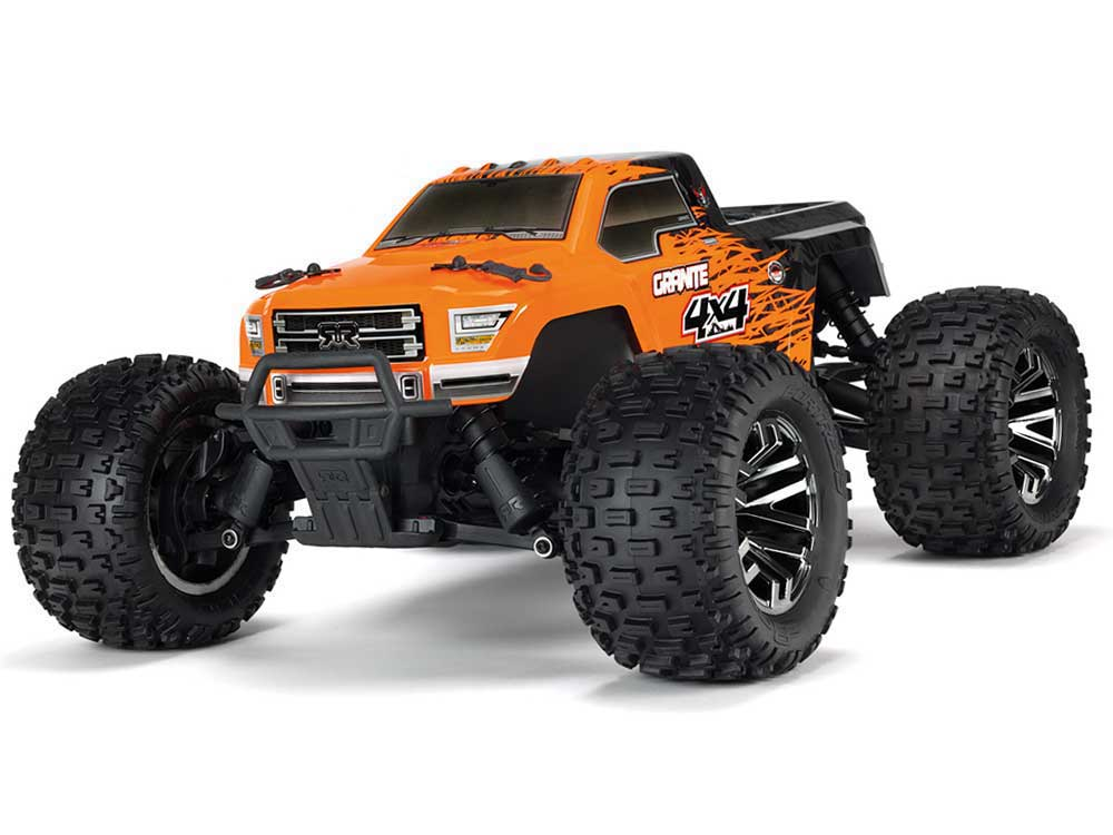 Arrma Granite 4x4 3s BLX - Orange/ Black AR102666