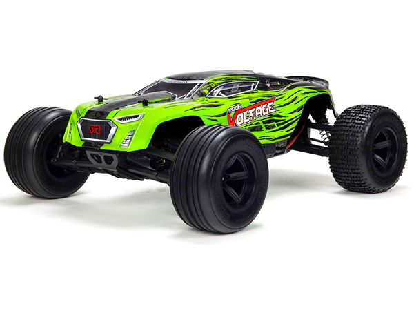 Arrma Fazon Voltage Mega SRS 1/10 RTR RTR 2D Truck - Green AR102675