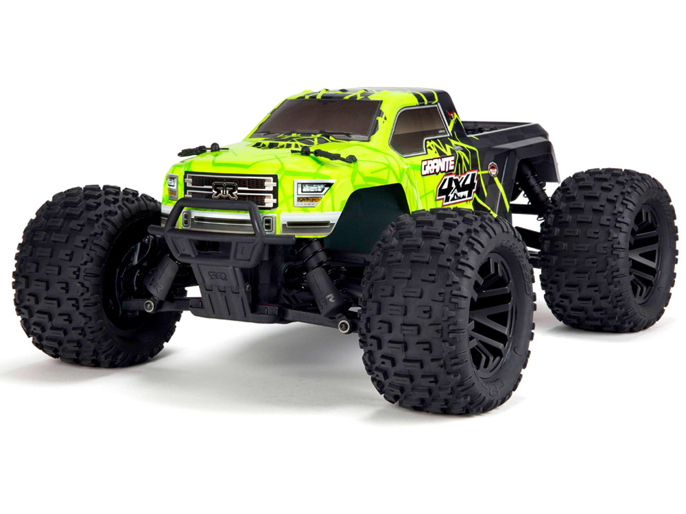 Arrma Granite 4x4 Mega Brushed 1/10th RTR Monster Truck - Green/ Black AR102680