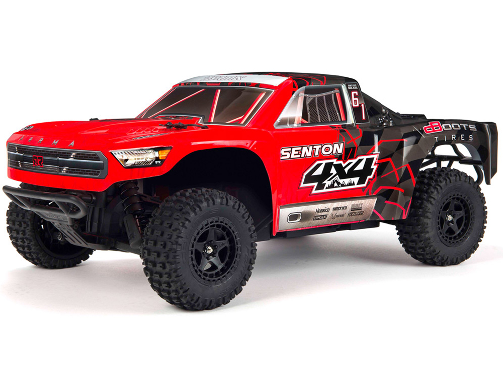 Arrma Senton 4x4 Mega Red/ Black AR102682