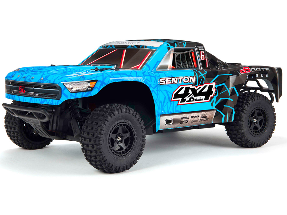 Arrma Senton 4x4 Mega Brushed RTR - Blue/ Black AR102683