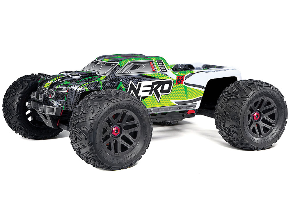 Arrma Nero 6S 4wd BLX Monster Truck RTR - Green AR106009