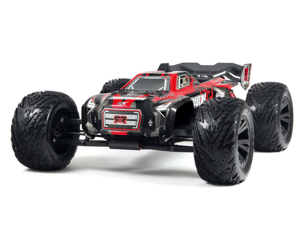 Arrma KRATON 6Sv2 4WD BLX Brushless RTR - Red AR106018