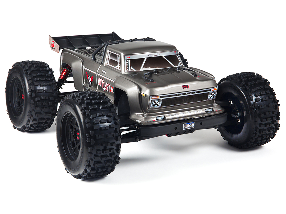 Arrma OutCast 6s 4WD BLX Brushless RTR - Silver AR106021