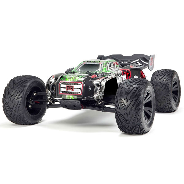 Arrma Kraton 2018 Spec 6s BLX Monster Truck RTR - Green/ Black AR106031