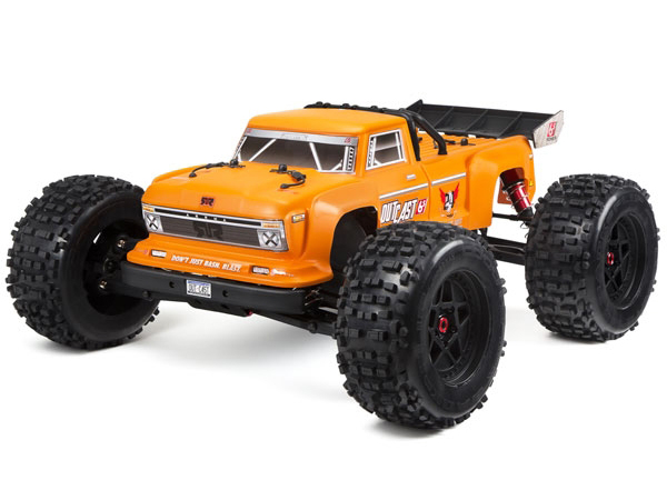 Arrma OutCast 6s 4WD BLX Brushless RTR 2018 Spec - Orange AR106033