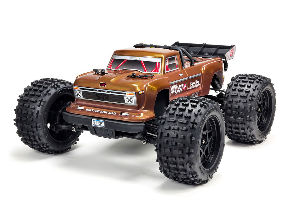 Arrma 1/10 OUTCAST 4x4 4S BLX Brushless Truggy RTR ARA102692