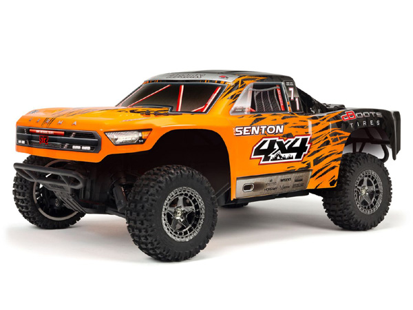 Arrma Senton 3s 4x4 BLX  - Orange/ Black ARA102721T2