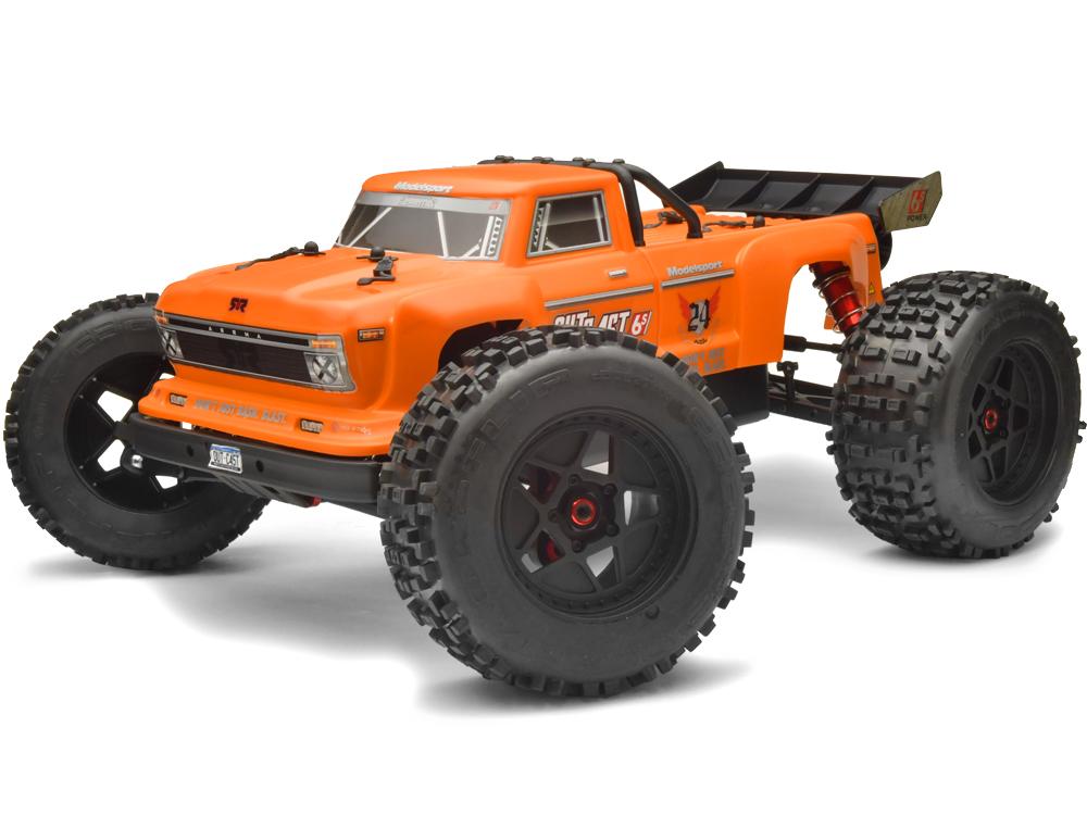 ARRMA Body Orange Outcast 6S AR406126