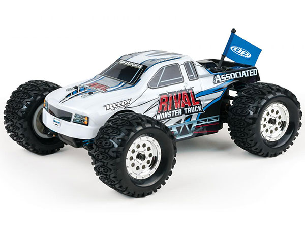 Associated Rival 1/18 Monster Truck RTR - White AS20112W