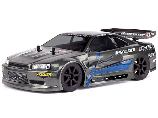 Associated Qualifier Series 1/18 Apex Mini 4wd Touring Car RTR 2.4Ghz - Grey AS20113G