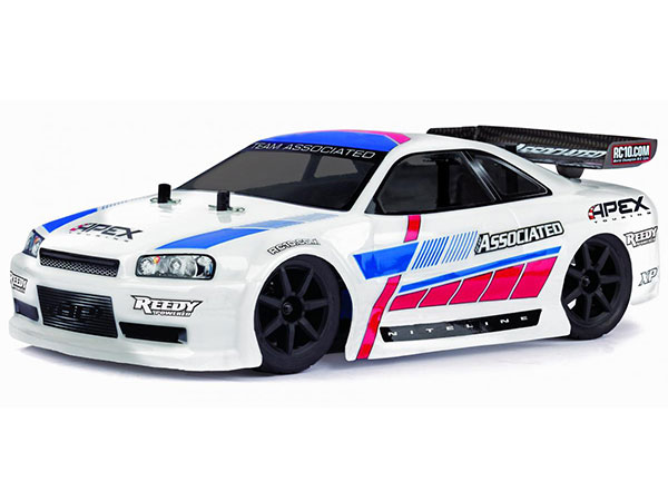 Associated Qualifier Series 1/18 Apex Mini 4wd Touring Car RTR 2.4Ghz - White AS20113W