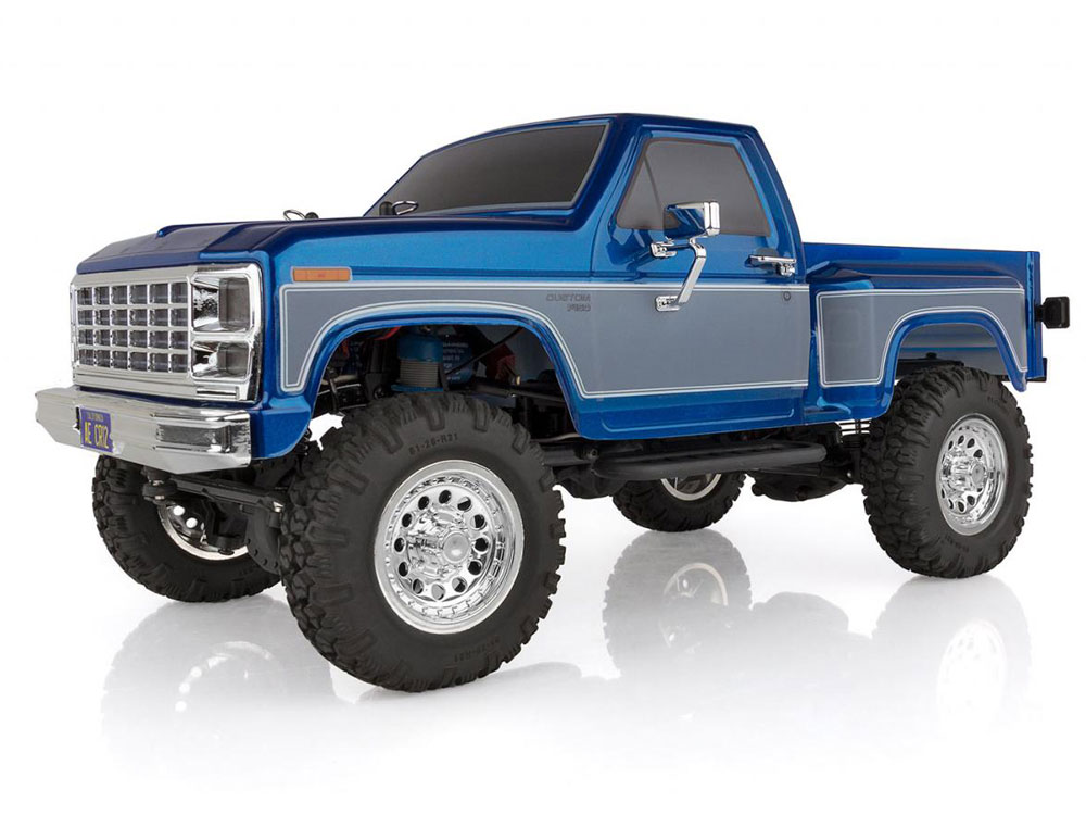 Associated CR12 Ford F-150 Pick-Up RTR - Blue AS40002
