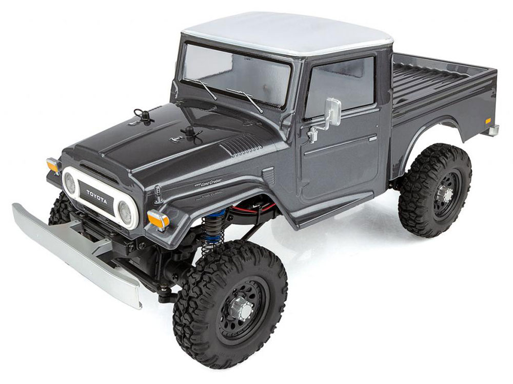 Associated CR12 Toyota FJ45 Pick-Up RTR - Grey AS40004