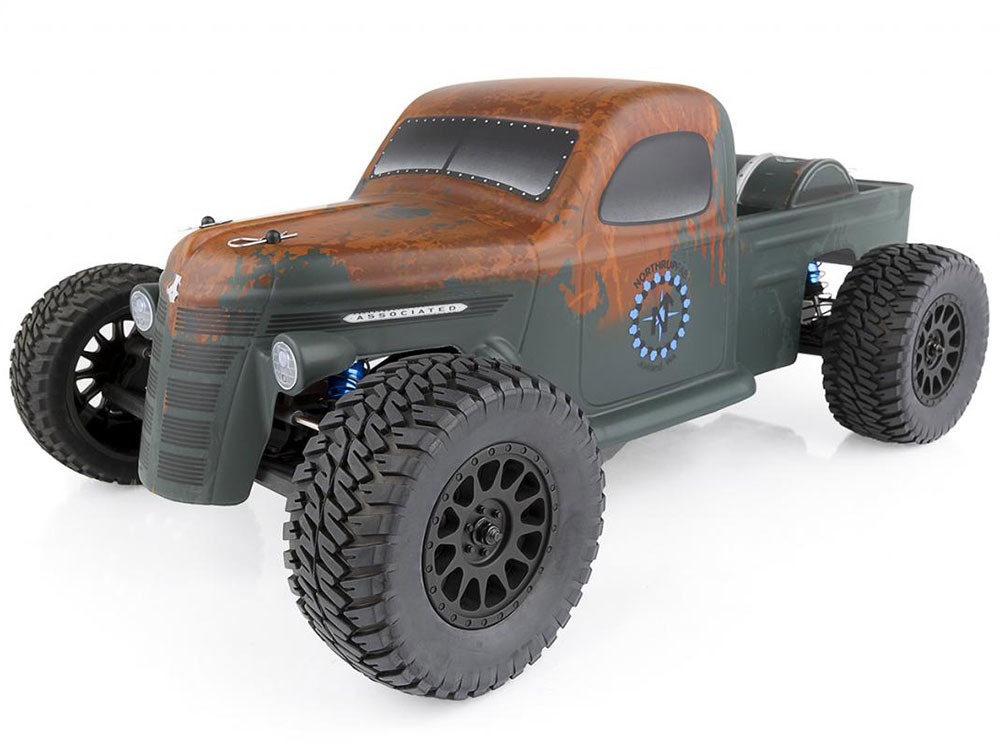 Associated 1/10 Brushless Trophy Rat RTR AS70019