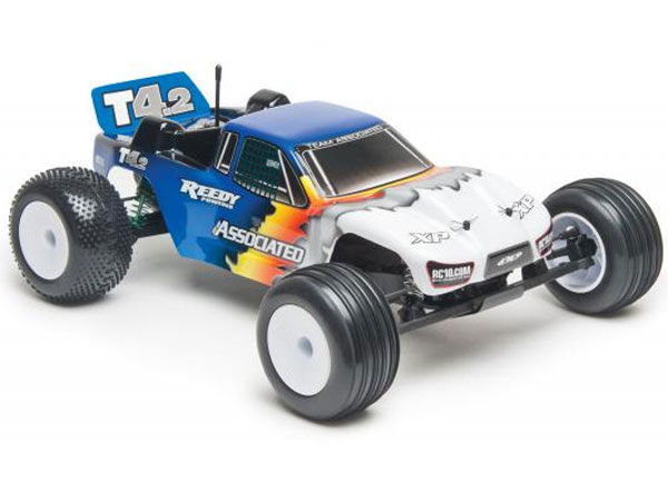 Associated RC10T4.2 Race Spec 1/10th Scale RTR 2WD Electric Race Truck (Blue) AS7039B