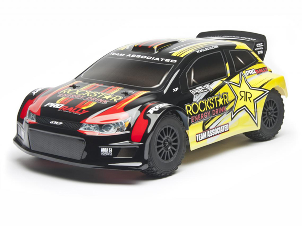 Associated Rockstar ProRally 4WD Brushless RTR Rally Car (Black and Yellow) AS7070BY