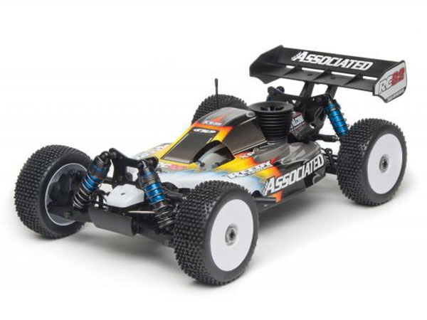 Associated RC8.2 RS RTR 1/8th Scale 4WD Nitro Off Road Race Buggy AS80909