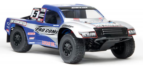 Associated SC10 4x4 RTR Brushless 4WD SC Truck w/2.4Ghz - Pro Comp AS90006