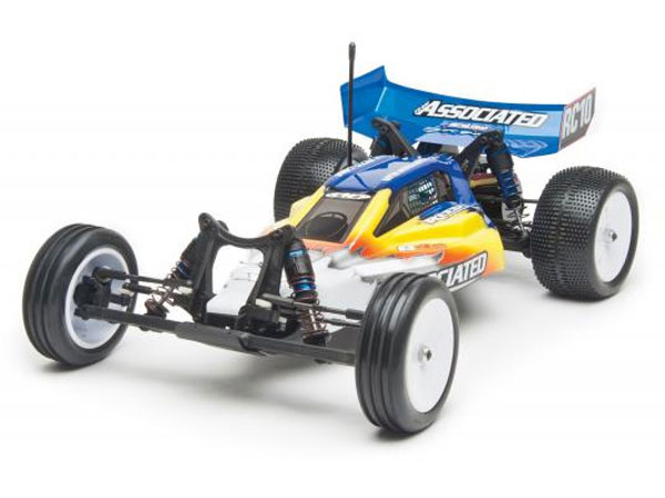 Associated RC10B4.2 Race Spec RTR Buggy (Blue/Yellow) AS9042BY