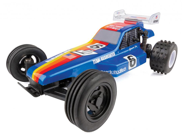 Associated RC28 Jammin Jay Halsey Replica 1:28 Scale Buggy - Ready to Run AS20156