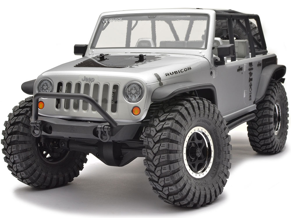 Axial Jeep Wrangler Rubicon : Axial scx jeep wrangler unlimited rubicon rtr ax