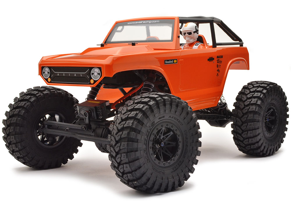 Axial R C : Axial ax deadbolt th scale rtr electric wd rock
