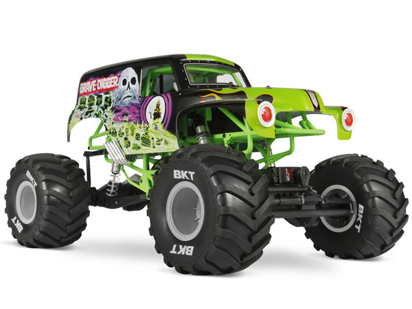 Axial SMT10 Grave Digger Monster Jam Truck RTR AX90055