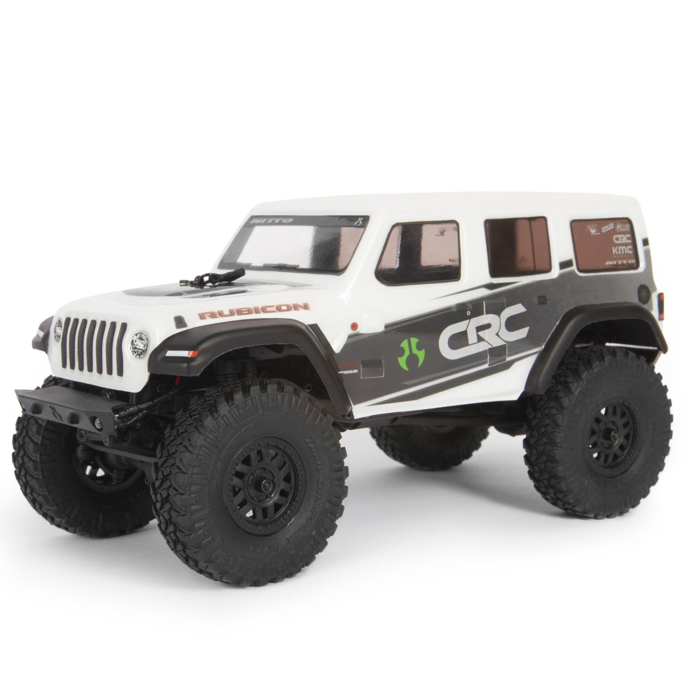 Axial 1/24 SCX24 2019 Jeep Wrangler JLU CRC Rock Crawler RTR - White AXI00002T1