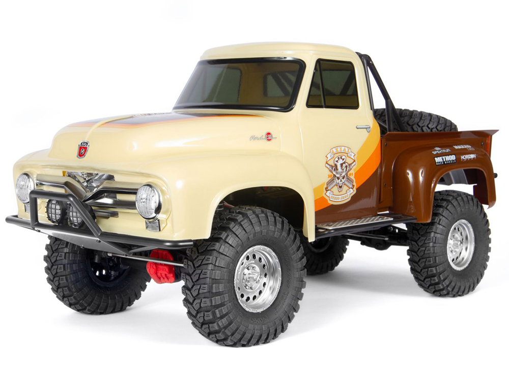 Axial SCX10 II 1955 Ford F-100 Truck 4WD RTR - Brown AXI03001T1