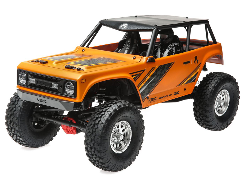 Axial 1/10 Wraith 1.9 4WD Brushed RTR - Orange AXI90074T1