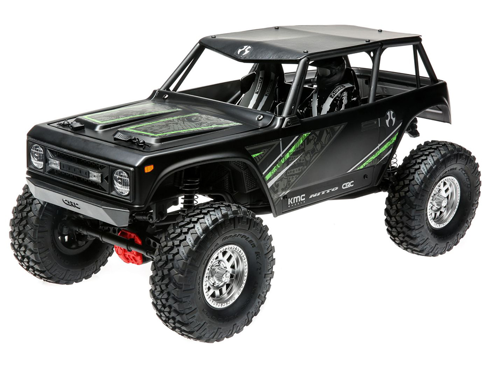 Axial 1/10 Wraith 1.9 4WD Brushed RTR - Black AXI90074T2