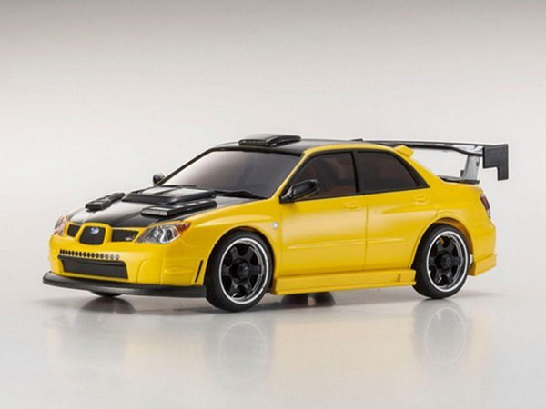 Kyosho Mini Z MA020 Sports 4wd Subaru WRX Aero - Yellow 32131MY