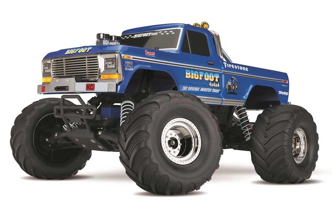 Traxxas BigFoot No. 1 Original Monster Truck XL- 5 RTR 36034-1