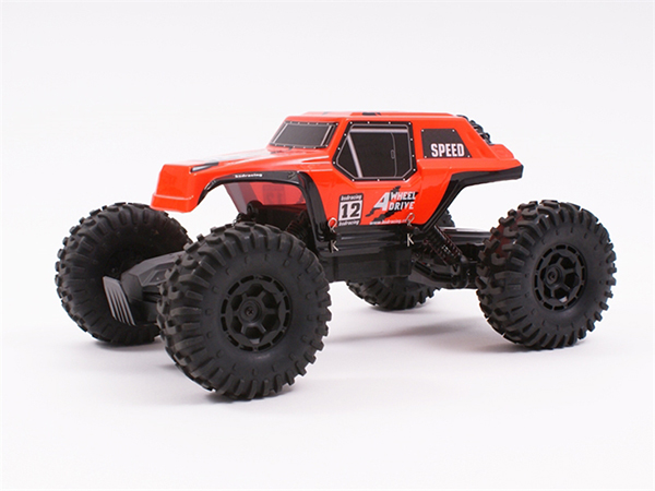 BSD Racing 1/12 4WD Rock Crawler 2.4Ghz - Orange (Pre-Owned) BT1001-O-U1