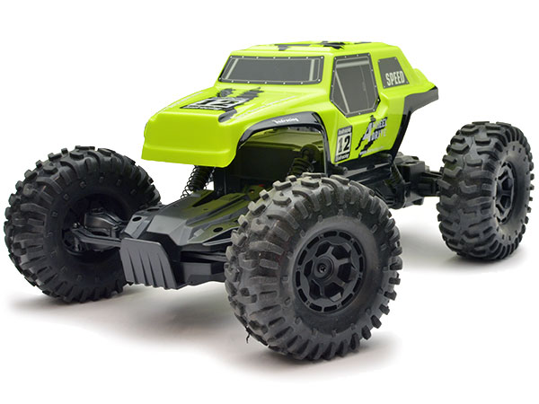 BSD Racing 1/12 4WD Rock Crawler 2.4Ghz - Yellow 1-BT1001-Y