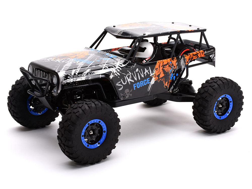 Ripmax Survival Force 1/10 4WD Rock Crawler RTR 2.4GHz C-RMX27346