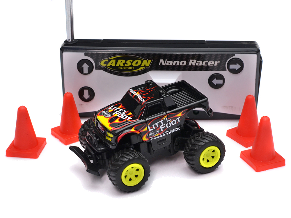 Carson 1:60 Nano Racer Little Foot RTR - Gift Box - 27MHz C404184